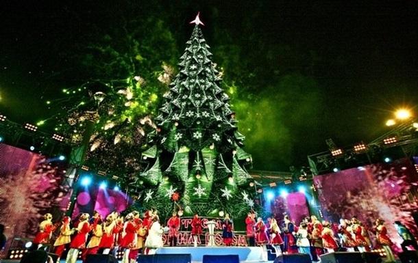Новогодние праздники в Киеве будут отмечать на четырех площадях