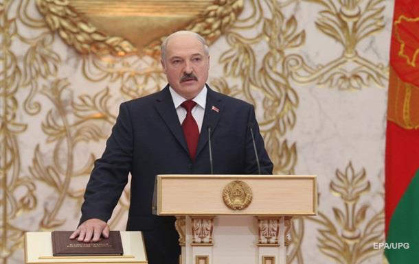Лукашенко в пятый раз дал президентскую клятву