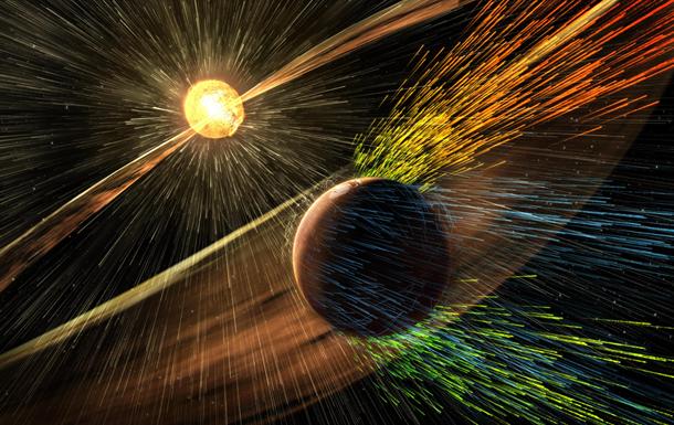 Солнце уничтожило атмосферу и океаны Марса