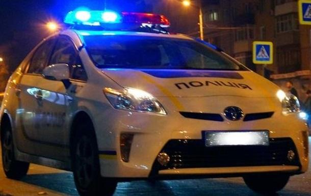 в Харькове полиция остановила автобус с пассажирами. (Видео)