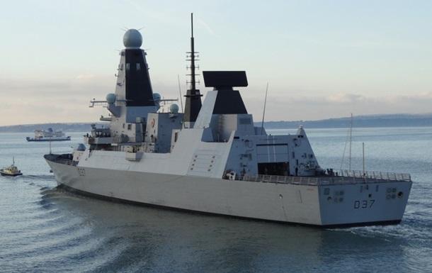 Британский эсминец вошел в Черное море - СМИ