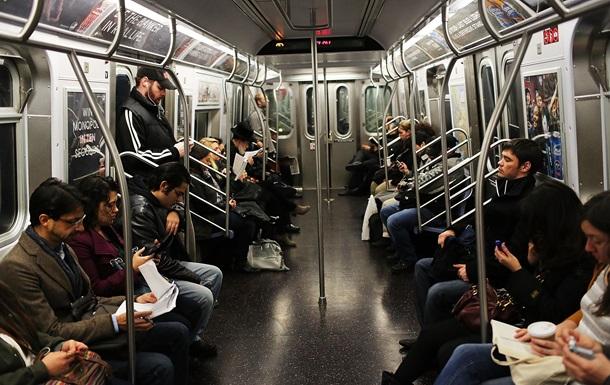 Люди в метро