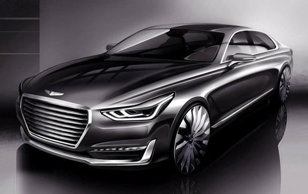 Седан Hyundai Genesis G90