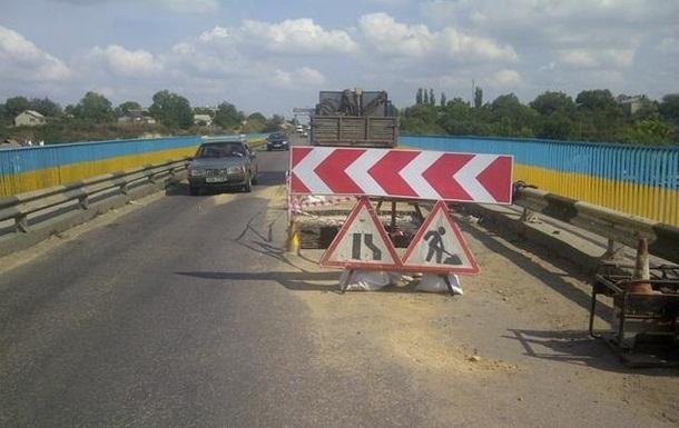 Появилась  живая  карта ремонта дорог в Украине