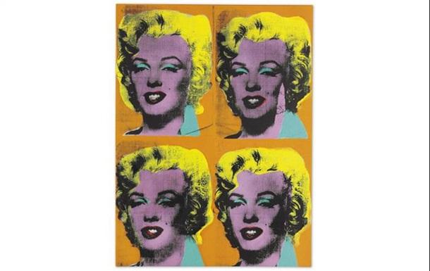 Портрет Монро продали за 36 миллионов долларов