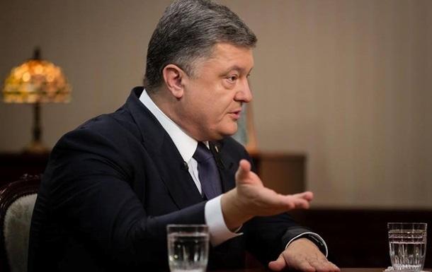 Порошенко пригрозил России новыми санкциями