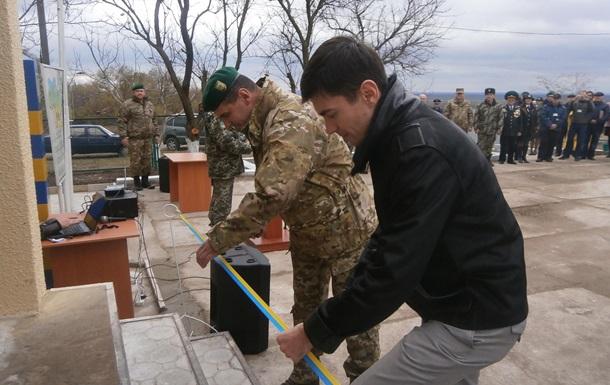 Украина укрепила границу с Приднестровьем
