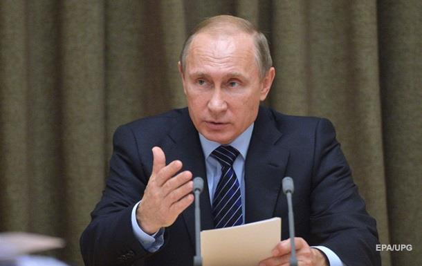 Путин: Угроза  замораживания  Донбасса сохраняется