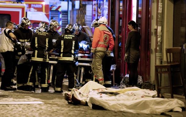 Число погибших в Париже превысило 150 человек - СМИ
