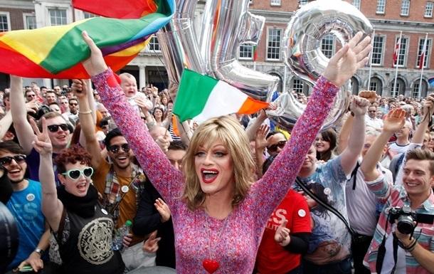 В Ирландии вступил в силу закон об однополых браках