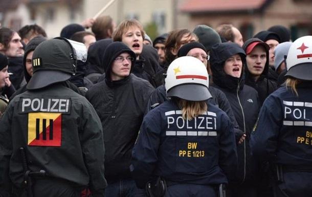 В Германии беспорядки на митинге против ультраправых