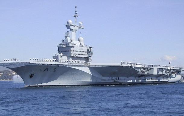 Французский авианосец приступил к борьбе с ИГ – СМИ