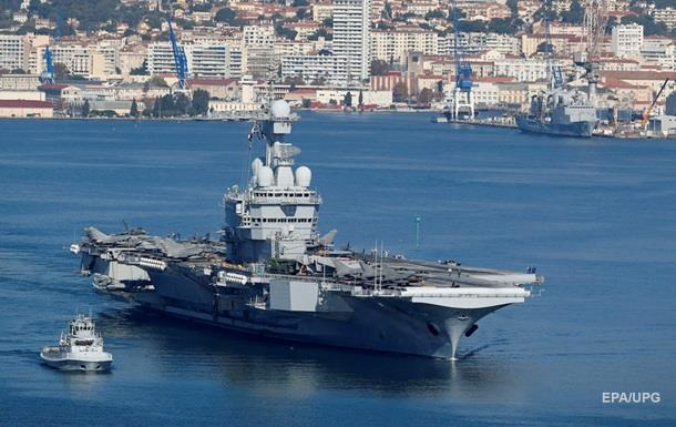 Париж отчитался о первых ударах авианосца по ИГ