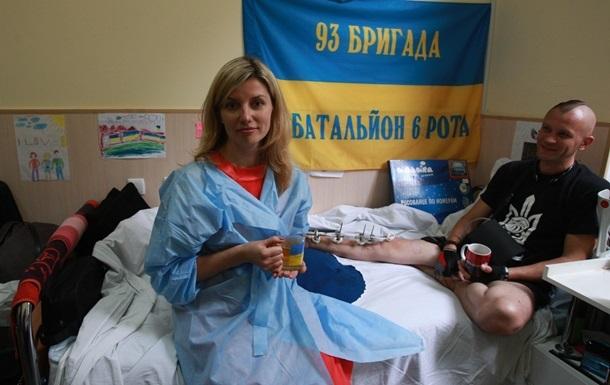 Порошенко одобрил одноразовую помощь раненым в АТО волонтерам