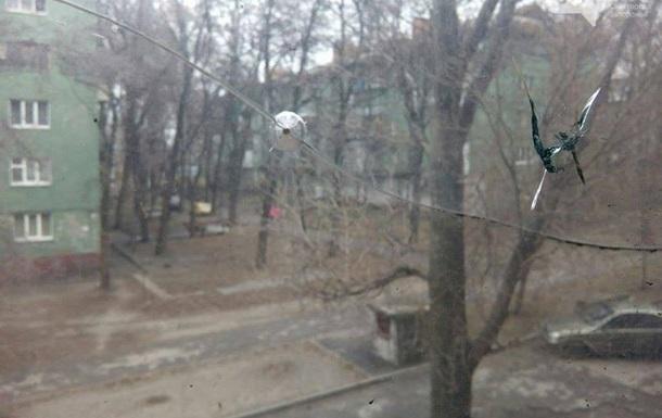 В Запорожье обстреляли Дом печати