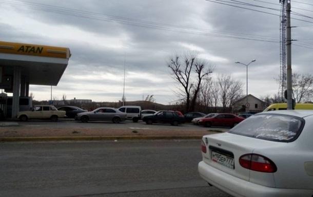 В Крыму подняли цены на бензин