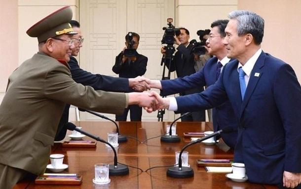 Южная Корея и КНДР начали новый раунд переговоров
