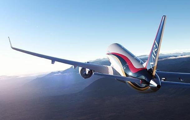 Японский реактивный самолет MRJ совершил третий тестовый полет
