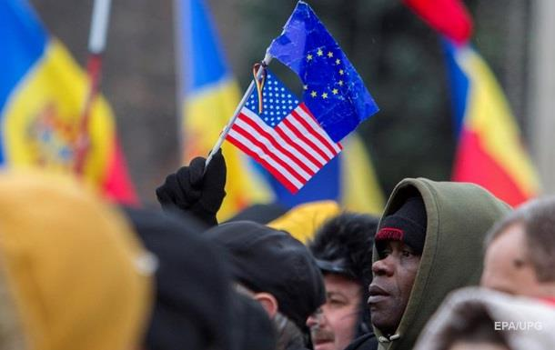 В Молдове прошли антиправительственные протесты