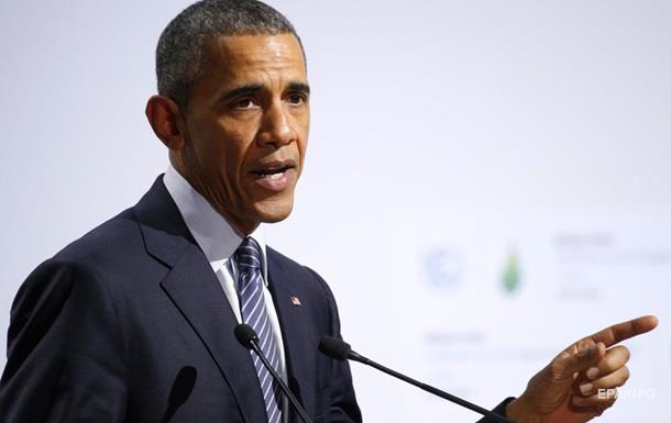 Обама заявил об ответственности США за изменение климата