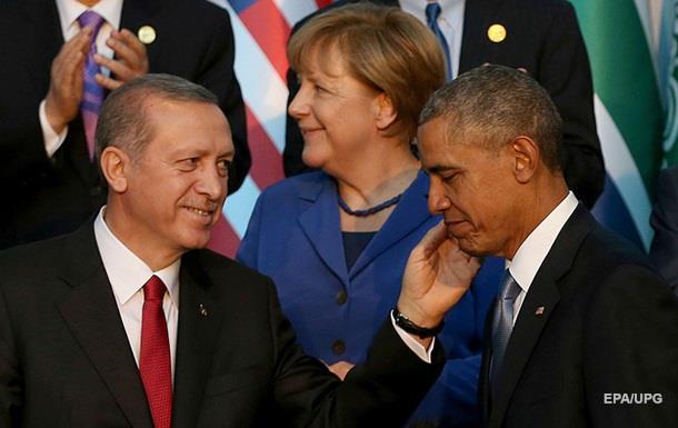 Обама и Эрдоган обсудили пути примирения с Россией