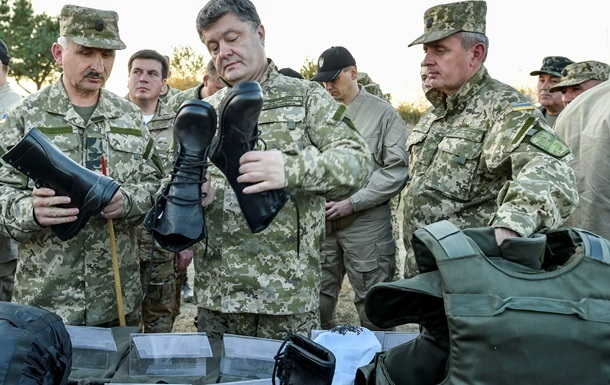 Порошенко одобрил 100-миллиардный оборонный бюджет