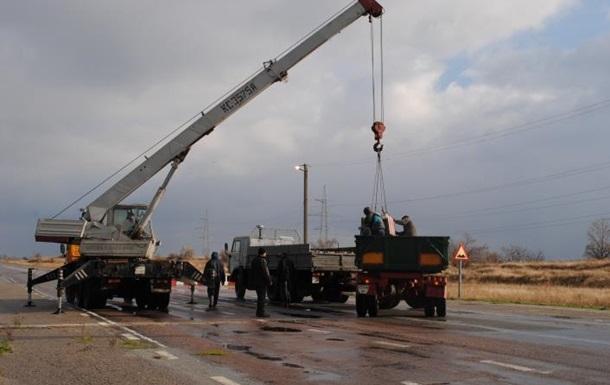 В Запорожской области убрали два блокпоста