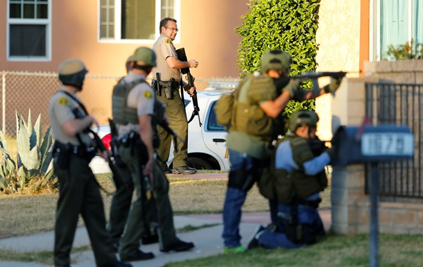 Ликвидированы двое подозреваемых в стрельбе в Калифорнии