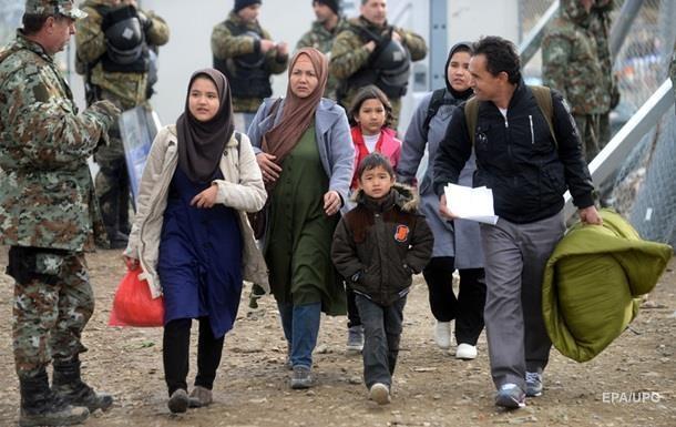 Из-за погоды снизился поток мигрантов на греческо-македонской границе