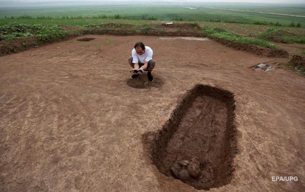 В Китае нашли захоронения возрастом 2600 лет