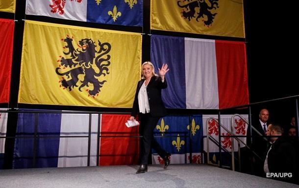 Партия Марин Ле Пен стала лидером на региональных выборах во Франции