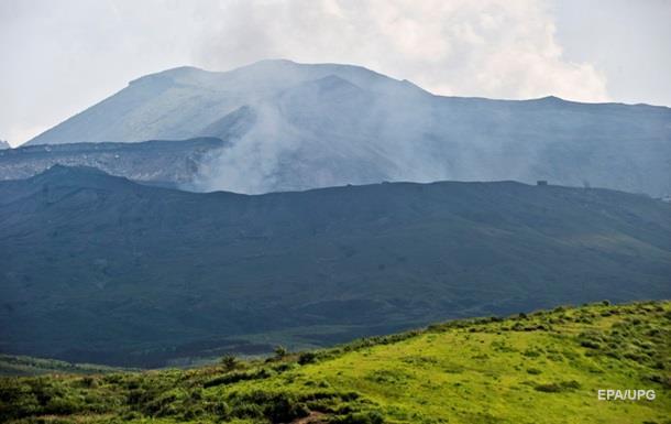 В Японии произошло извержение вулкана Асо