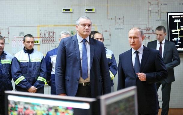 Крым отказывается от украинского электричества