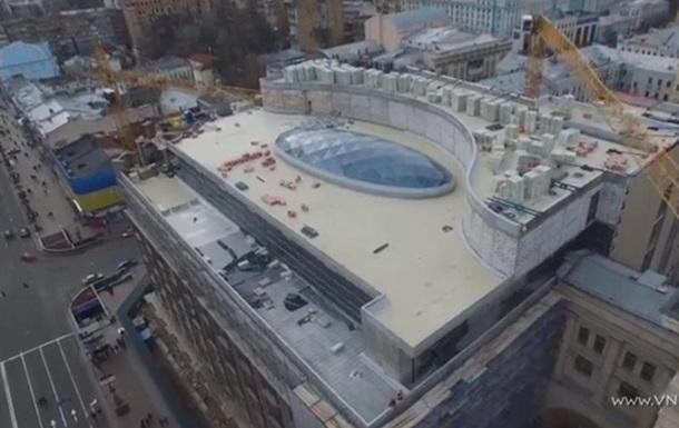 В киевском ЦУМе появился стеклянный купол