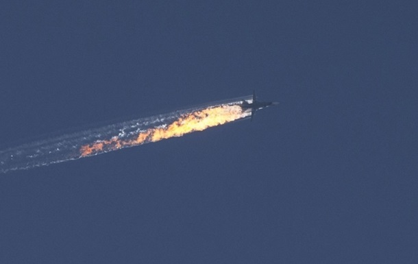 24 ноября Турция сбила российский Су-24