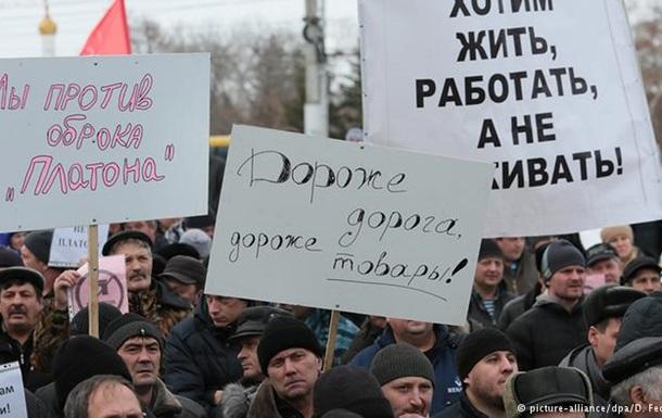 Российские производители предупредили о росте цен из-за  Платона