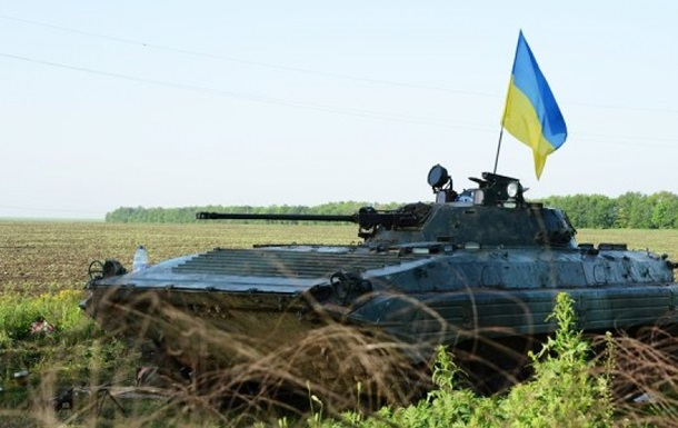 На Донбассе подорвалась БМП, есть жертвы