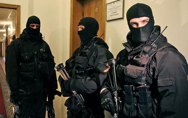 Задержание диверсантов на Оболони в Киеве