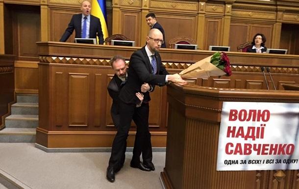 Байден осудил инцидент с Барной и Яценюком