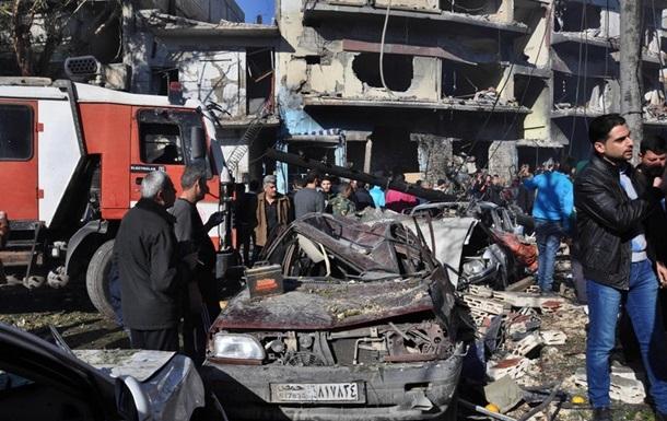 ИГ взяло на себя ответственность за теракт в Хомсе