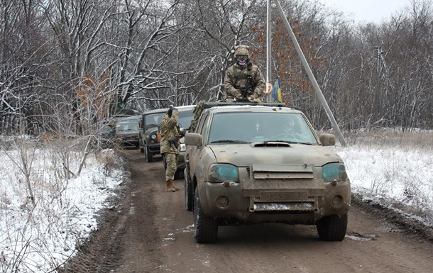 Украинских военных в зоне АТО обстреляли из гранатометов