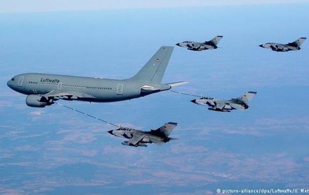 Немецкая авиация впервые приняла участие в операции в Сирии
