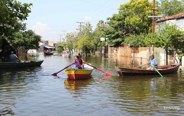 В Парагвае ввели чрезвычайное положение из-за наводнения