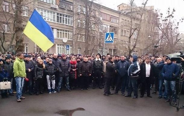 В Киеве милиция подала в суд на полицию