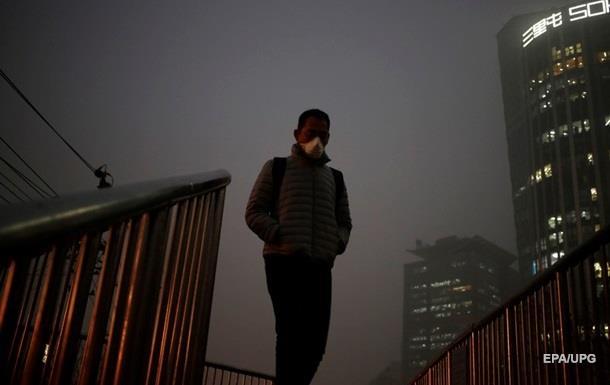 В Пекине снова объявлен красный уровень тревоги из-за смога