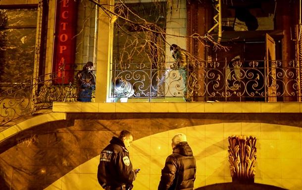 В Запорожье у ресторана прогремел взрыв