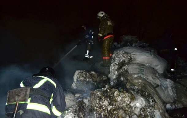 В Одессе произошел пожар на суперфосфатном заводе