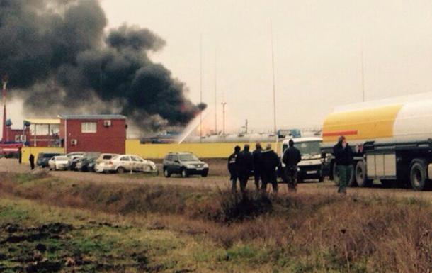 В РФ загорелся нефтеперерабатывающий завод