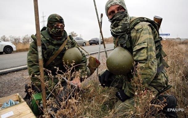 Военные на Донбассе