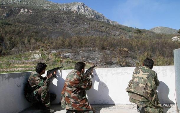 РФ: Армия Асада взяла ключевую высоту в Латакии